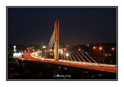 Pasupati Bridge, is one of the longest bridge in Indonesia.