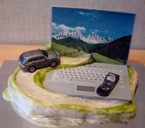 торт путешественнику