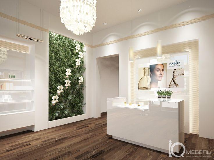 Зона ресепшн. BABOR BEAUTY SPA в Энгельсе. | Beauty Salon ...