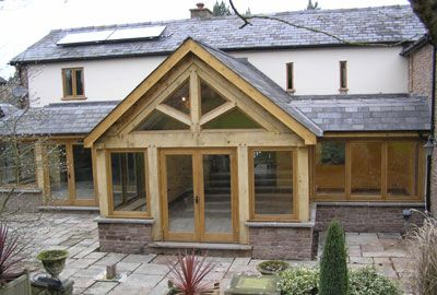 Quality porches and canopies by JM Joinery in Hereford, Herefordshire