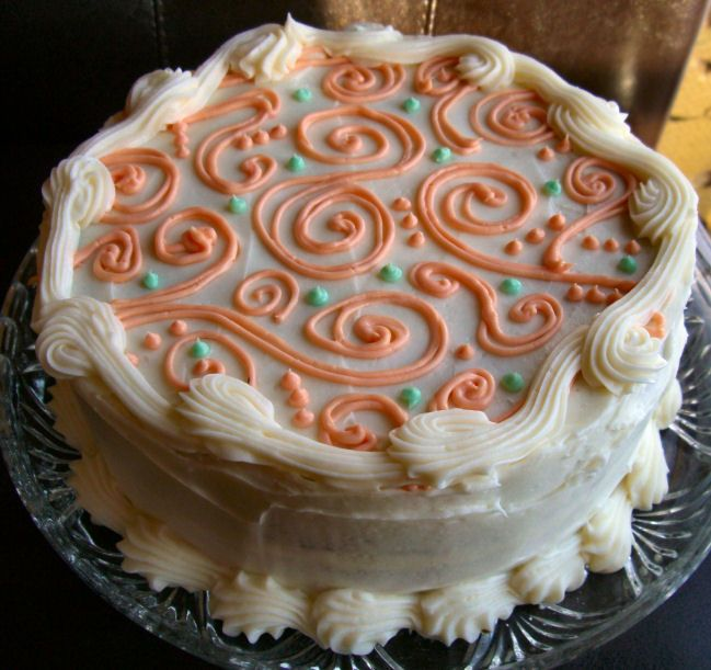 Carrot Cake... This is the carrot cake recipe to end all carrot cake recipes... Yield 12 servings...