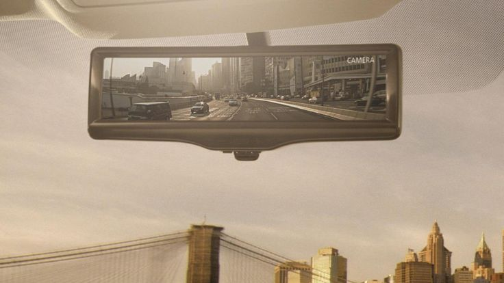 Nissan Motors Develops Smart Rearview Mirror - http://DesireThis.com/2502 - Nissan Motor Company has announced the development of the Smart rearview mirror, the world's first LCD monitor that not only provides clear rearward visibility under various conditions, but also allows the driver the ability to switch between the LCD monitor and the traditional rearview mirror, depending on the driver's preference.