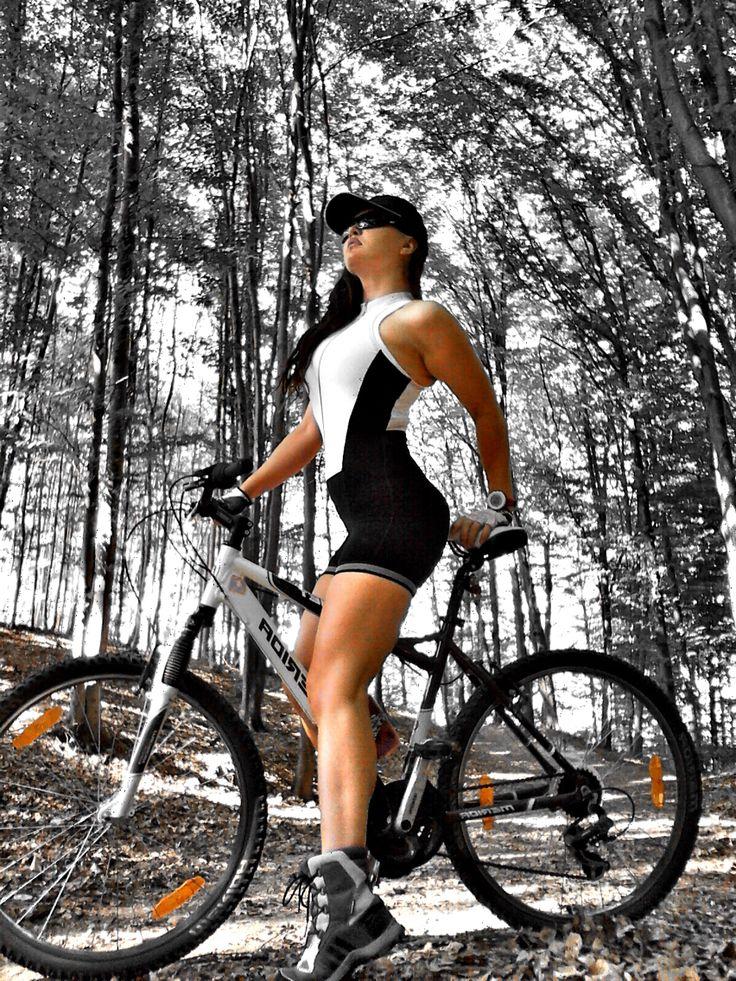 SPORTS nature bikes mountain biking happyness #cycling #ladysports #nature