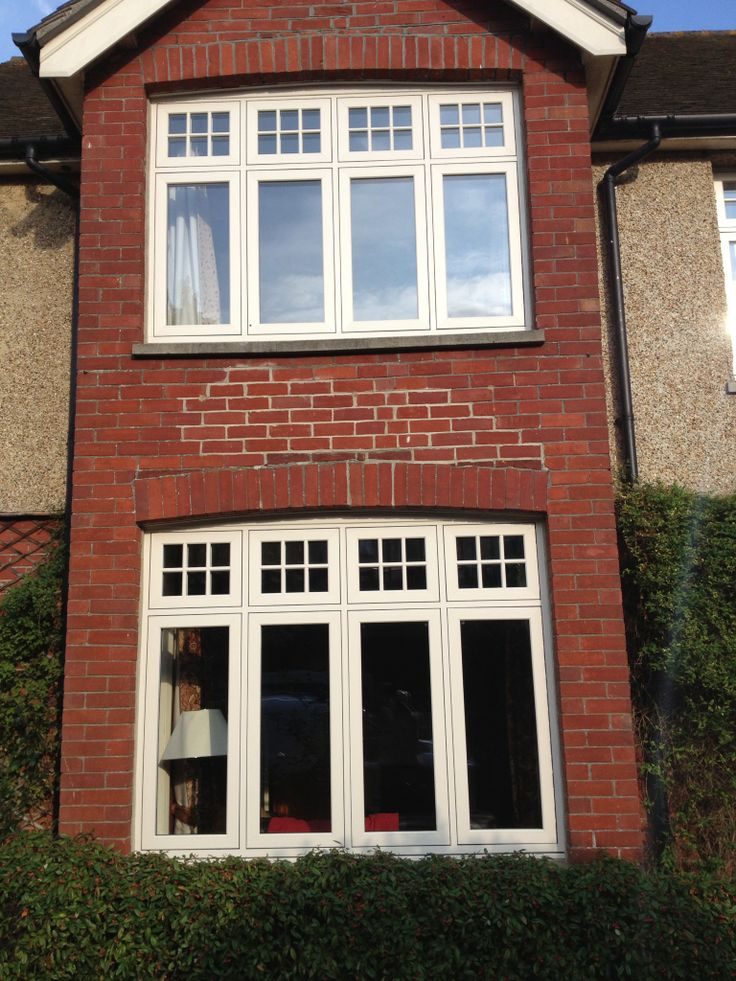 Front of house - Evolution windows