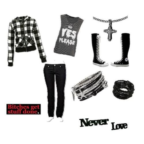 scene outfits for school emo scene school girl