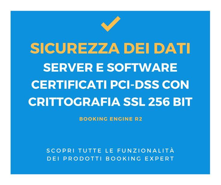 Con noi i tuoi dati sono al sicuro! Scopri di più: http://www.bookingexpert.it/booking-engine.html