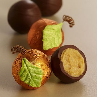 What's an elegant dinner party without Godiva Pumpkin Patch Truffles