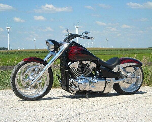Custom Low Rider Honda VTX