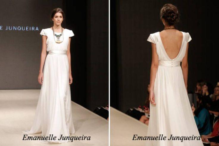 Vestido de Noiva by Emmanuelle Junqueira