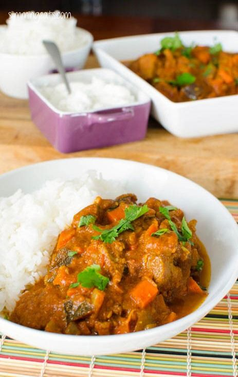 Slimming Eats Bombay Beef Curry - gluten free, dairy free, Whole30, paleo, Slimming World (SP) and Weight Watchers friendly