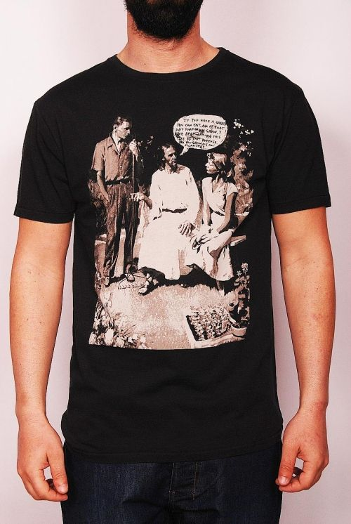 Insight -Shelby Menzel men's t-shirt floyd black