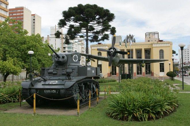 Museu do Expedicionário. Curitiba/PR.