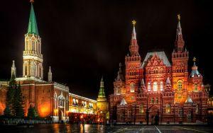 Fondo de pantalla de vista previa de Moscú, Rusia, la Plaza Roja, San Nicolás…