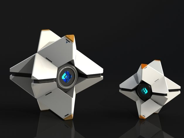 DIY Destiny Ghost (Idon't play Destiny but this it just too pretty)