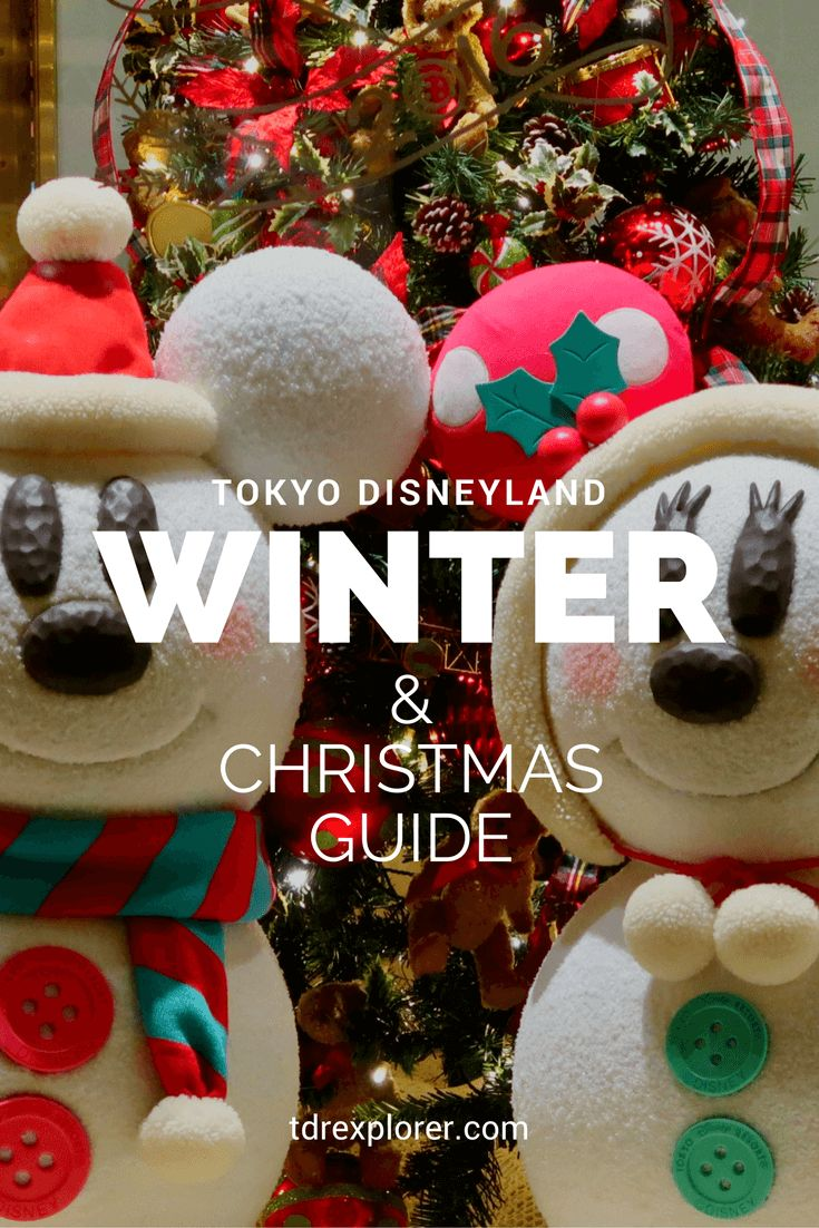 Our complete guide to Christmas at Tokyo Disneyland & Tokyo DisneySea. Tips, advice, recommendations, and videos!