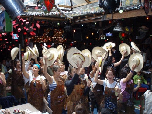 What a funfunfun night we had at Andres Carne de Res, Chia, Bogota, Colombia