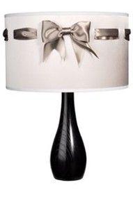 Ribbon lamp shade... very versatile