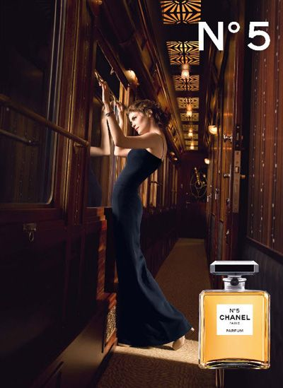 Chanel N°5 ad with Audrey Tautou, photography by Dominique Issermann (Beyond awesome...)