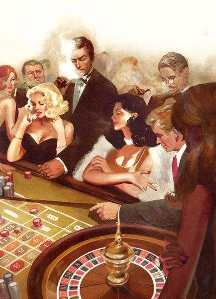 Illustrated 007 - The Art of James Bond: Casino Royale Edition from the Folio Society
