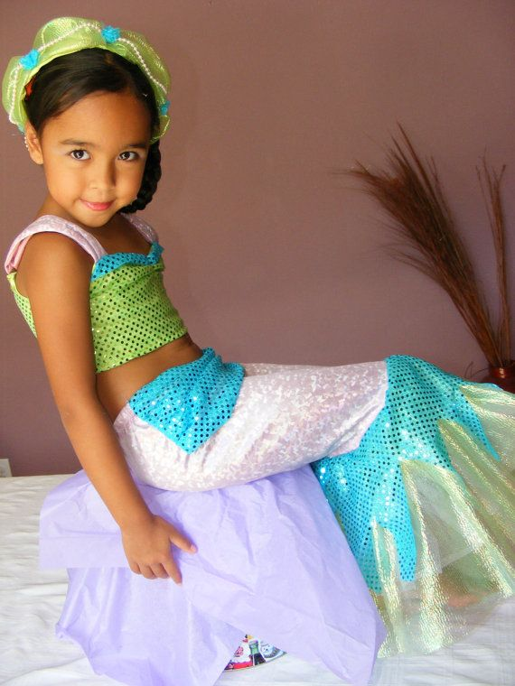 Little Mermaid Costume for Girl Sizes 2t5 by @DIPdesigns via @Etsy