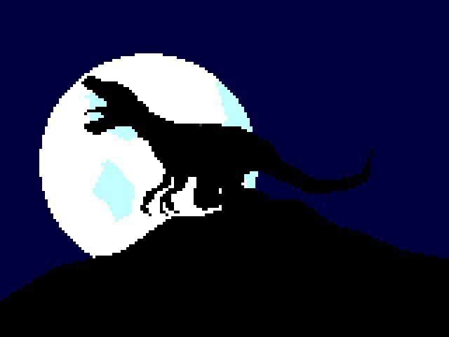 silhouette, dinosaur, t rex