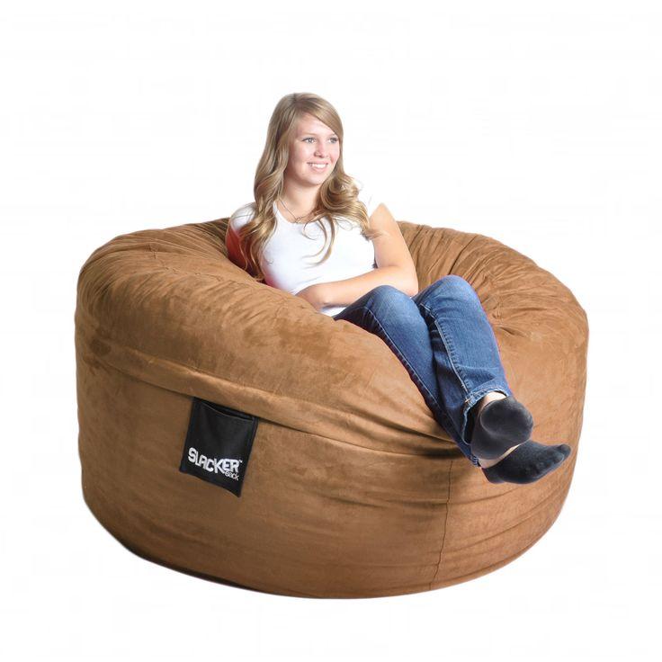 Earth Microfiber and Foam 5-foot Bean Bag