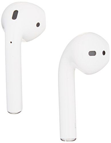 Apple MMEF2AM/A Airpods Wireless Bluetooth Headset for iPhones with iOS 10 or Later White