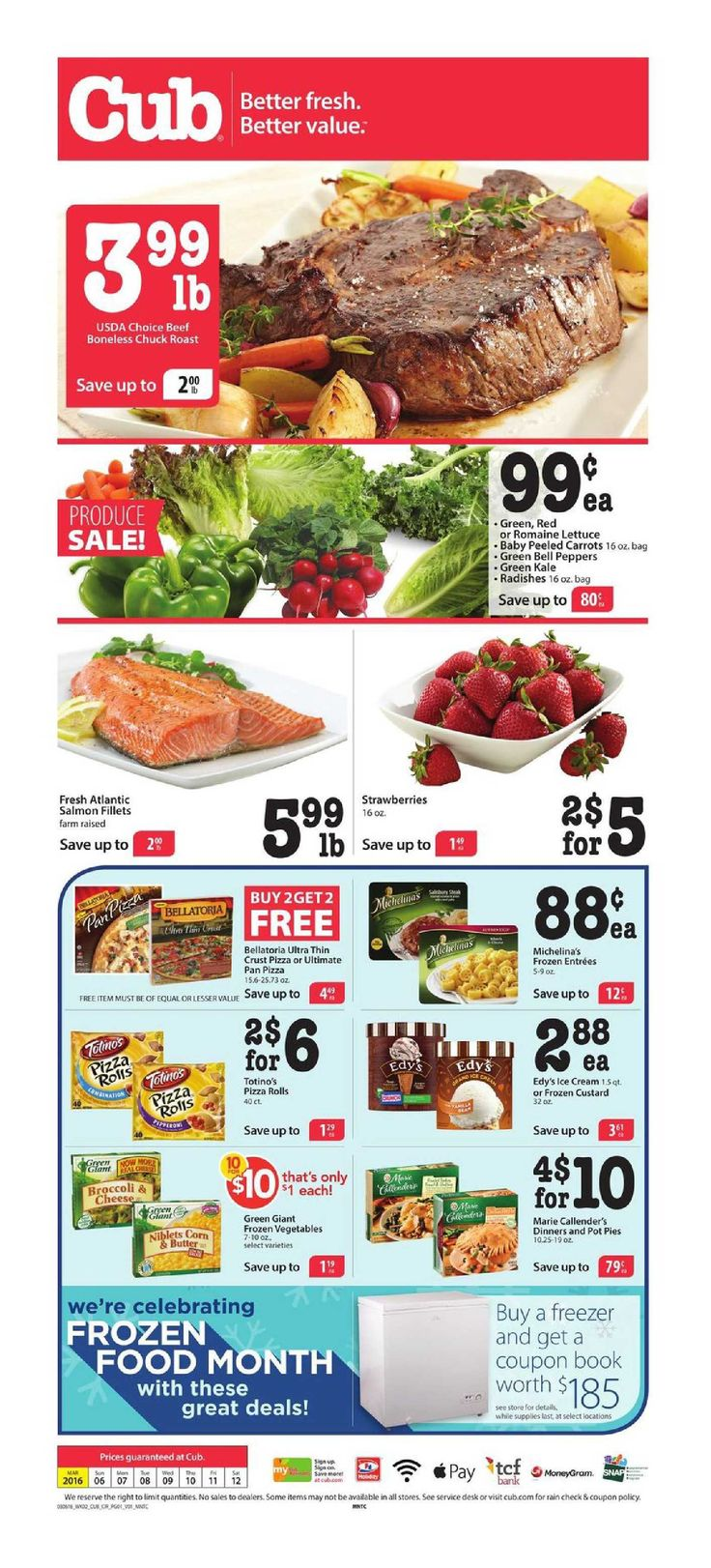 Cub Foods Weekly Ad May 22 - 28, 2016 - http://www.olcatalog.com/grocery/cub-foods-weekly-ad.html