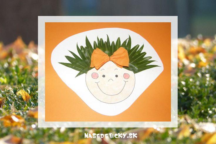 Listová tvárička - jesenné aktivity pre deti