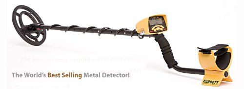 nice Garrett Ace 250 Metal Detector with Headphones, DVD, Digging Trowel, Finds Pouch and Carry Bag