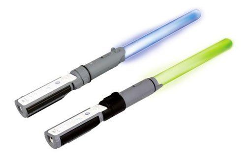 awesome Official Star Wars Wii Anakin & Yoda Light-Up Replica Lightsabers - Dueling Pack These Light-Up Lightsabers for Wii give you the ultimate Lightsaber experience! Authentic replicas of Anakin's blue and Yoda's green Lightsabers come... http://gameclone.com.au/games/official-star-wars-wii-anakin-yoda-light-up-replica-lightsabers-dueling-pack/