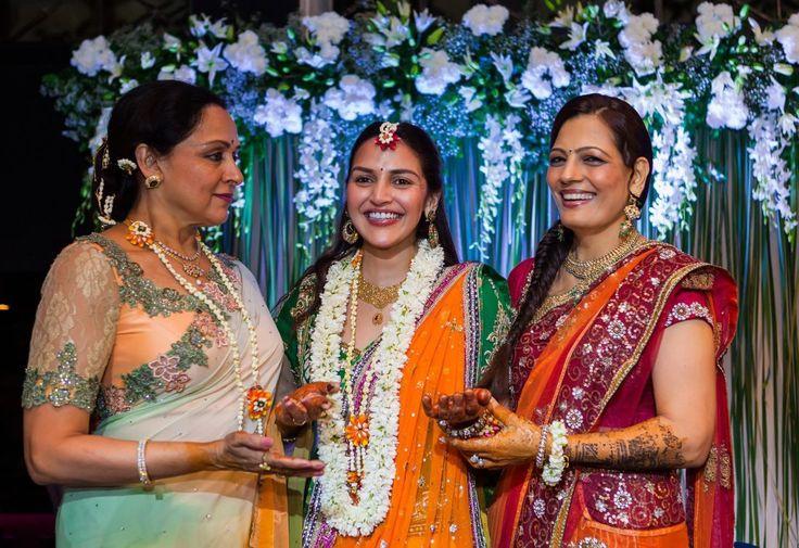 Esha Deol Hema Malini Mehndi Party Mumbai