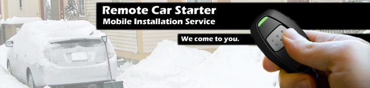 On site Remote Car Starters company in Rochester