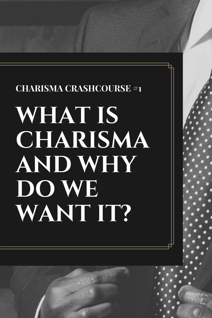 What is charisma