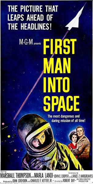 First Man Into Space - Movie Poster in Home & Garden, Home Décor, Posters & Prints | eBay