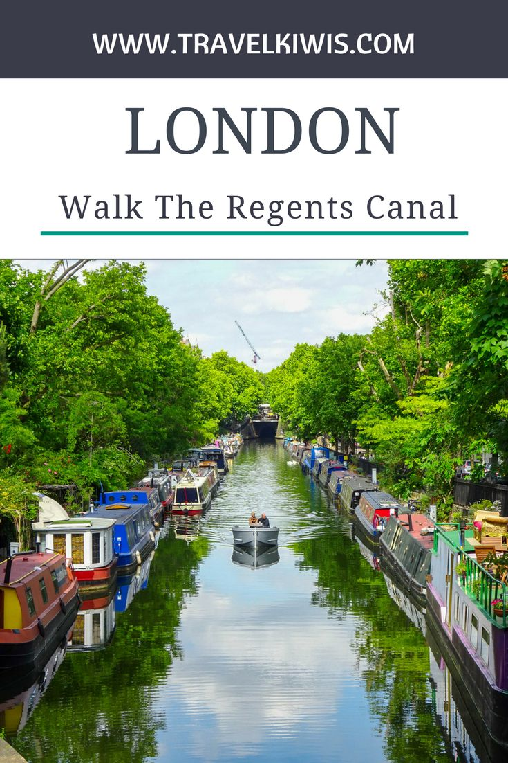 The Regents Canal London is a walk from Camden Town to Little Venice when you have a couple of hours to spare.