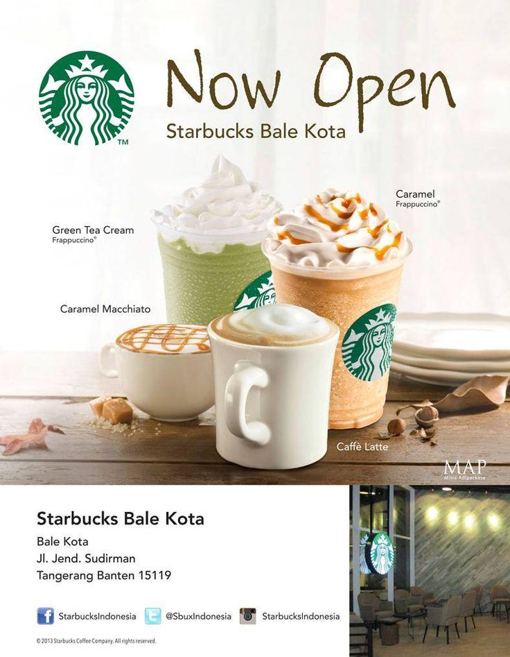 Starbucks is now open at Bale Kota!