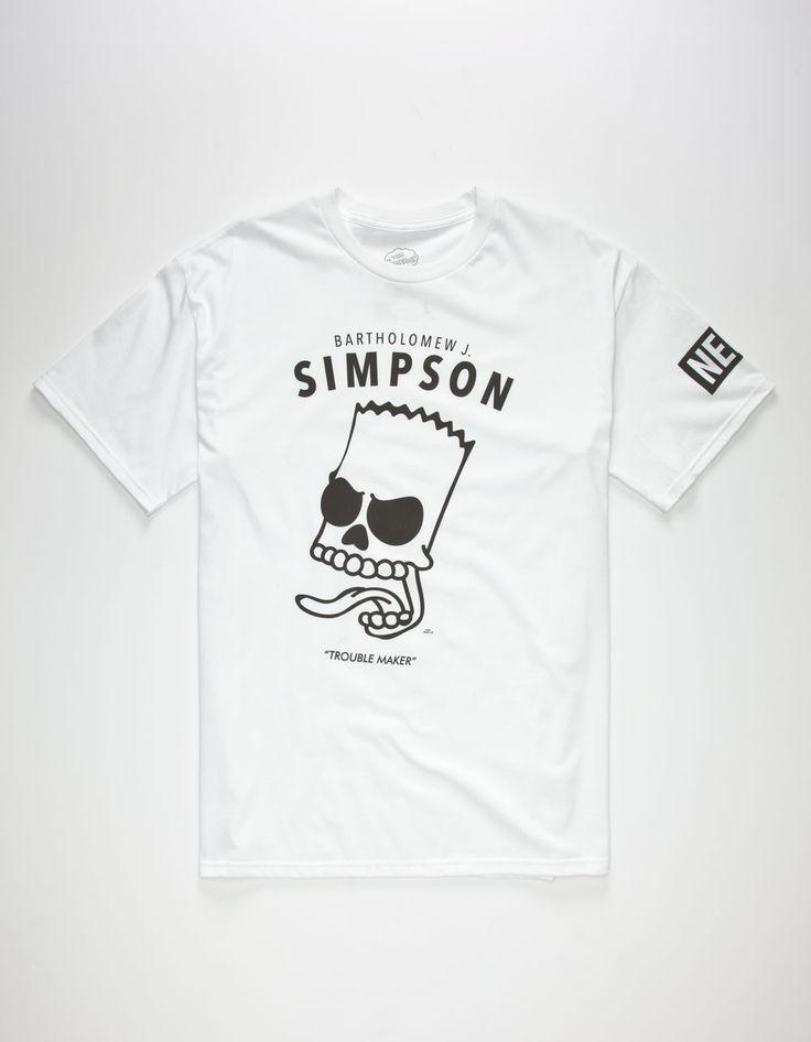 NEFF x The Simpsons Bartholomew Mens T-Shirt via Fashion Orlando Luquillo  FullPiso BibieFashion seo