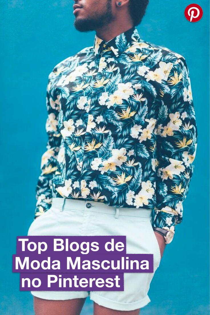 Descubra quais são os Blogs mais Pinados no Pinterest sobre Moda Masculina