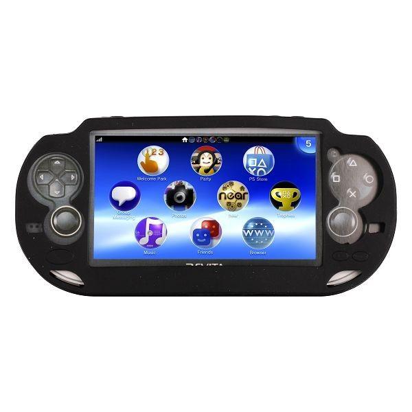 Soft Shell (Sort) Sony Playstasjon Vita Deksel