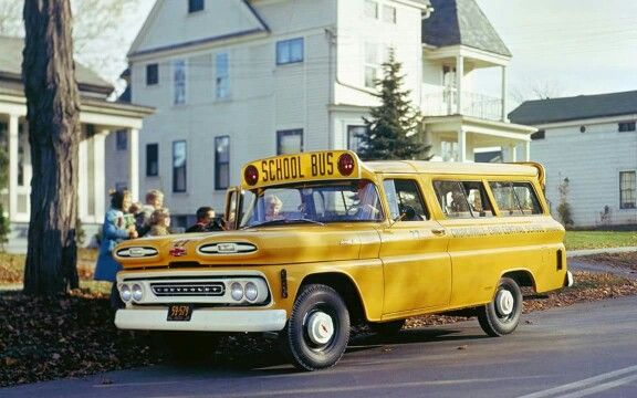 1959 Chevrolet Suburban School Bus ... Love It!