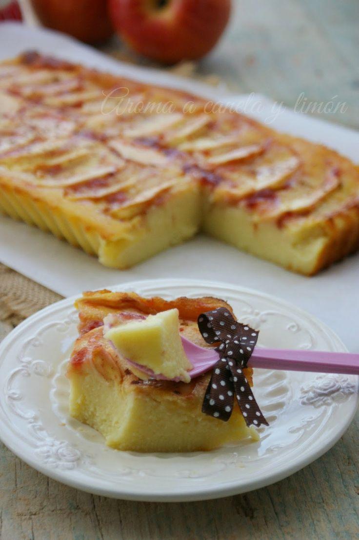 Aroma a canela y limon: TARTA DE MANZANA CON YOGUR