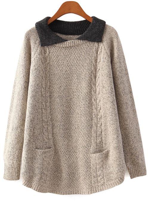 Turn-Down Collar Color Block Sweater: http://www.zaful.com/turn-down-collar-color-block-sweater-p_12859.html?lkid=180