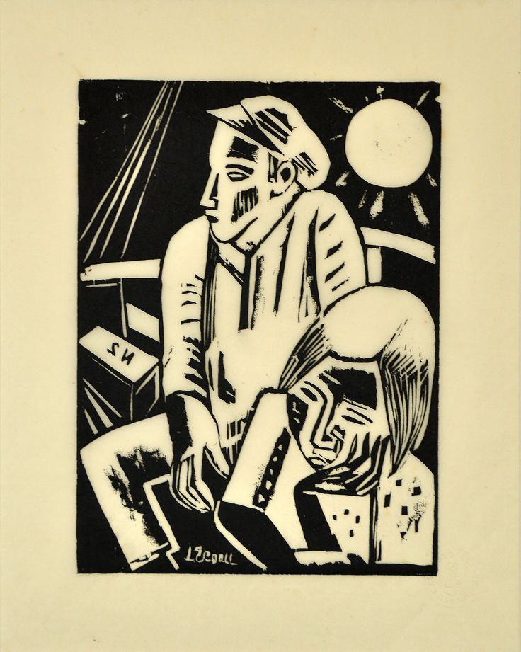 Lasar Segall, Imigrants. Segall was born in Lithuania and was part of the expressionist movement in Berlin and Dresden. He immigrated to Brazil in 1923 and was one of the pioneers of modernism in that country.
