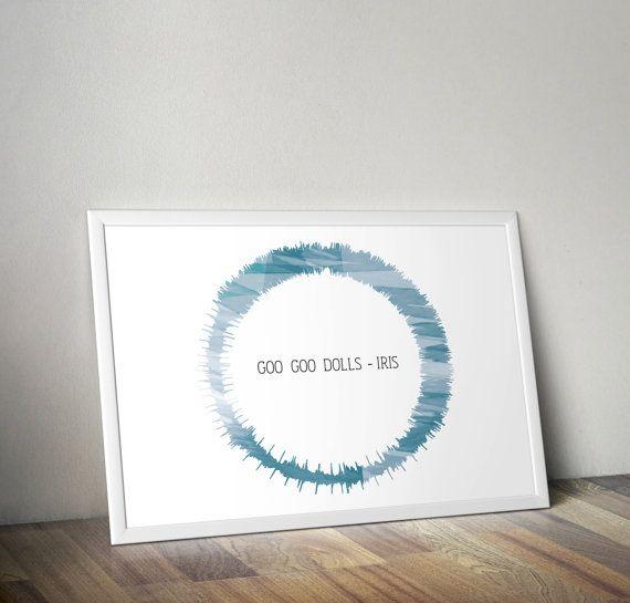 29 best sound wave art images on Pinterest Wave art, Sound waves - copy done up in blueprint blue lyrics