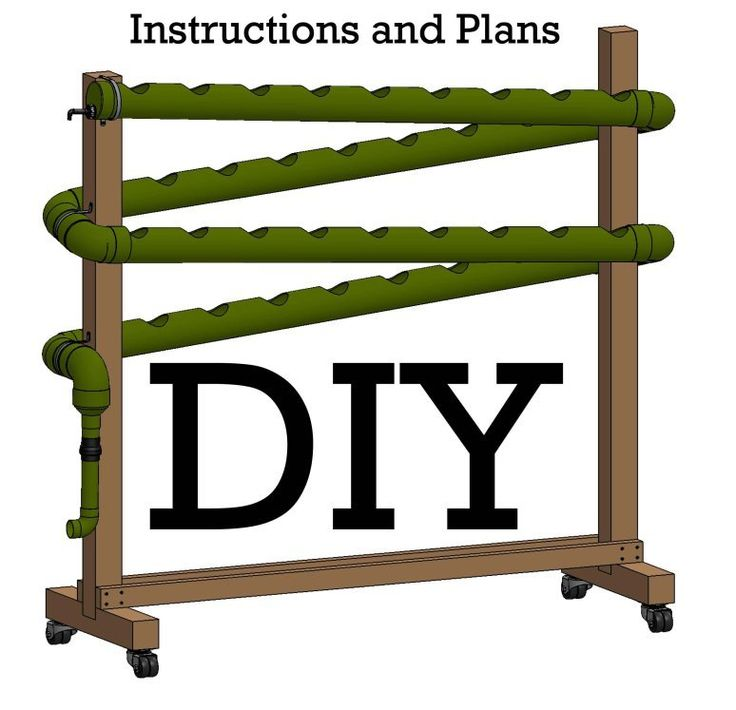 Do It Yourself   Vertical Hydroponic Garden Idea