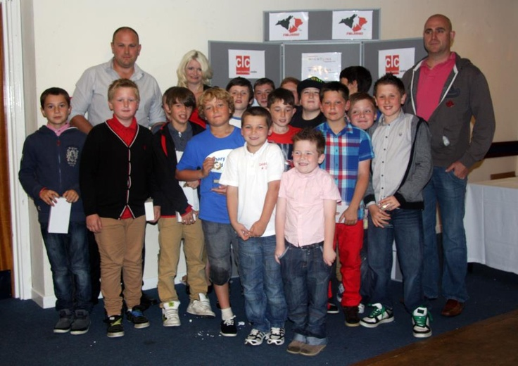 Presentation night for the Isle of Wight Junior Ice Hockey club Under 12s!  Well done boys!
