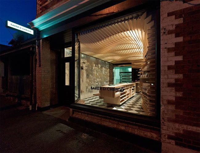 Baker D. Chirico, Victoria, Australia.  Identity by a collaboration between Fabio Ongarato Design and March Studio architects.