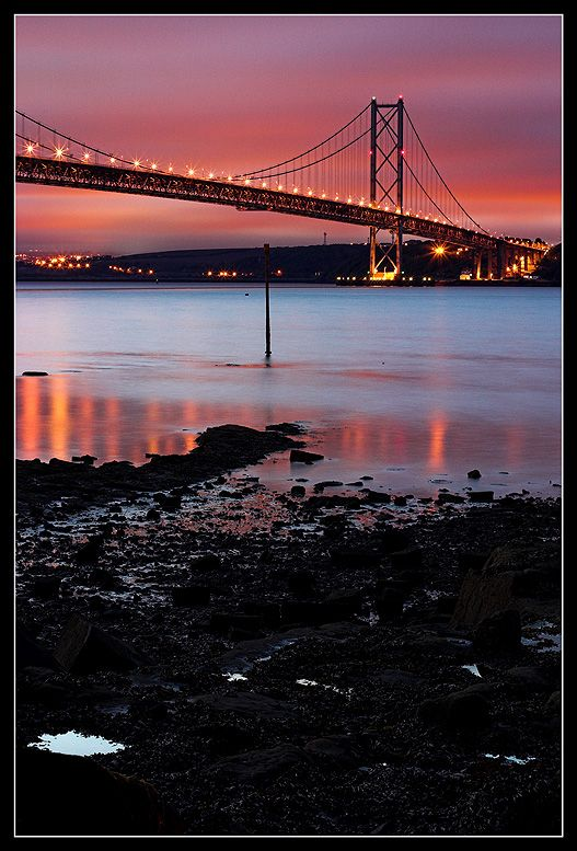 Road to the Fife (Forth Road Bridge), Edinburgh, Scotland Copyright: Patryk Moriak