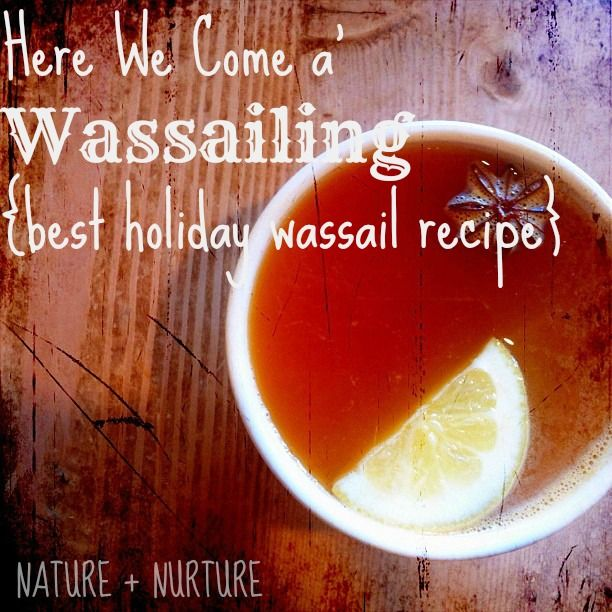 This wassail recipe has to be one of my favorite treats at Christmas. It's also easy-peasy and healthy to boot! Read on for the best wassail recipe ever.